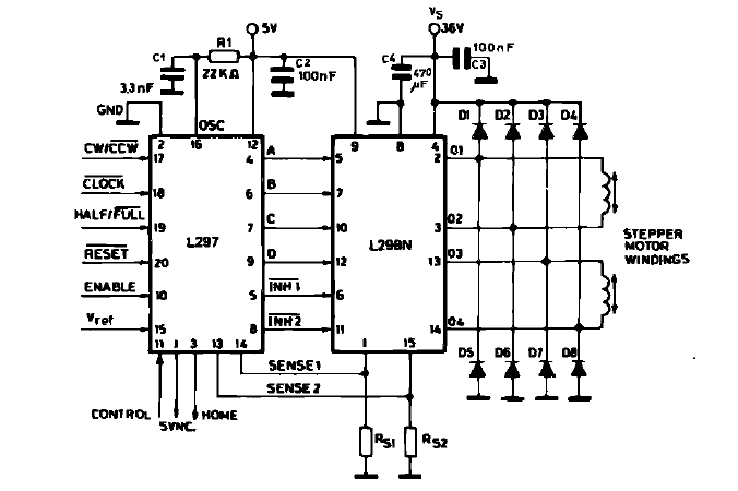 Wiring Schematic Of A Stepper Motor To A Cnc Driver 51